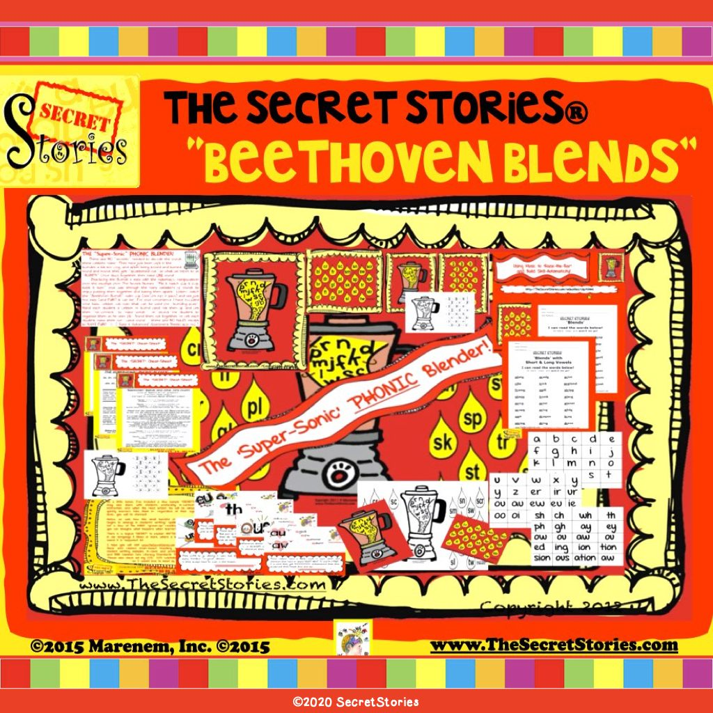 Beethoven Blends Musical Phonics Practice
