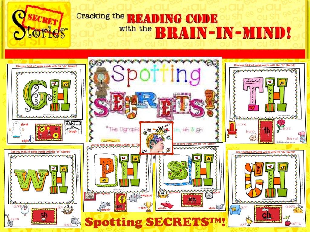 Spotting Secret Stories Phonics Secrets— teaching digraphs