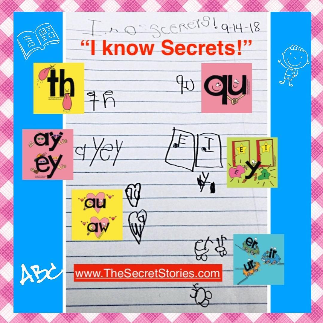 Secret Stories® Phonics for Teaching Beginning Writing