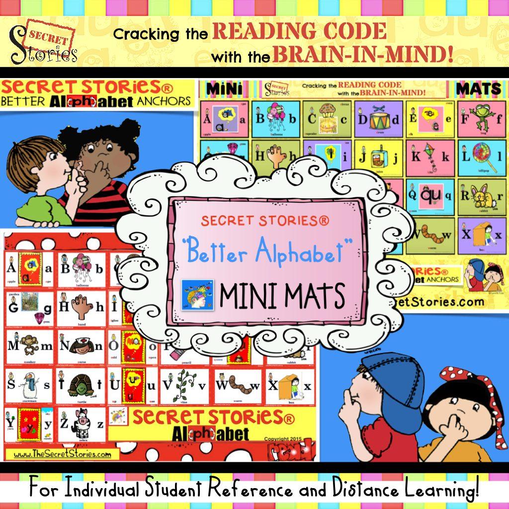 Better Alphabet Song Mini Mat