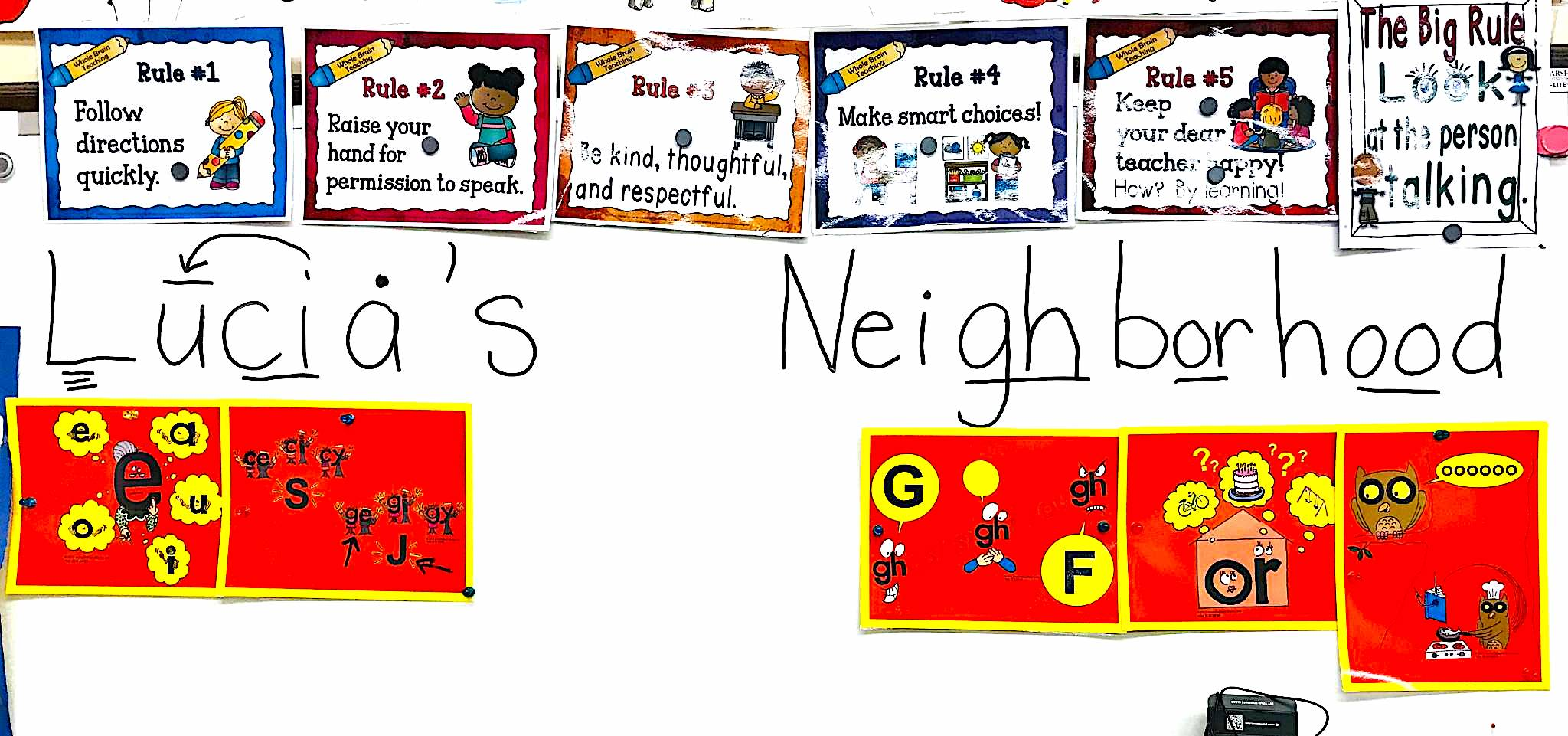 phonics rules in reading series