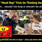 The Head-Bop Trick for Thinking Vowels- Schwa Sound