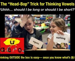 The Head-Bop Trick for Thinking Vowels- Schwa Sound