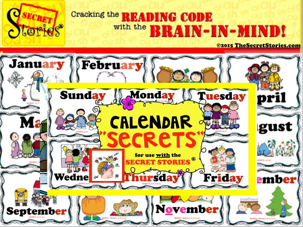 Secret Stories Phonics Calendar Secrets