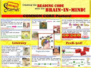 FREE Secret Stories® Common Core Literacy Posters for PK-3rd Grade