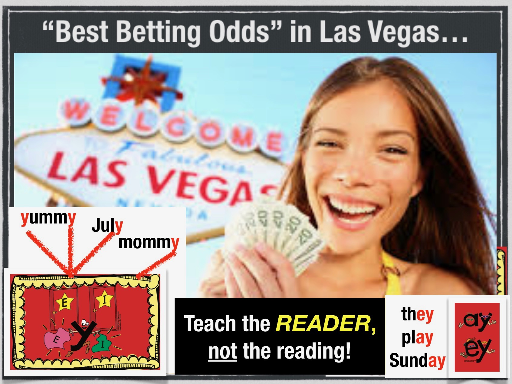 How to Decode Text with Best Betting Odds in Las Vegas!