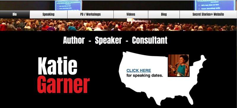 Katie Garner Education Keynote Speaker Website