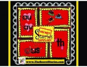 FREE Secret Stories® Phonics Mini-Poster Sample Pack