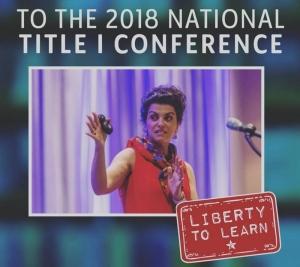 Katie Garner Title I Keynote Speaker