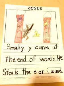 Secret Stories Sneaky Y® Secret Student Drawing & Story