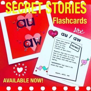 Phonics Flashcards The Secret Stories