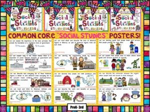 Social Studies Common Core Posters