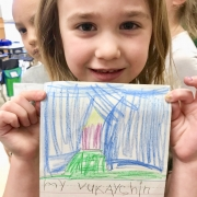kindergarten writing phonics skills