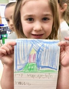 kindergarten writing phonics skills
