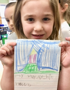 phonics in kindergarten writing
