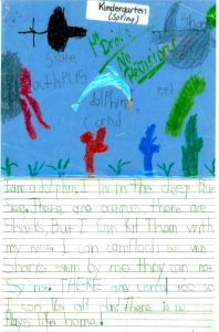 Kindergarten Writing in Phonics