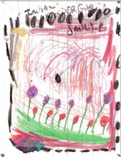 Kindergarten writing samples