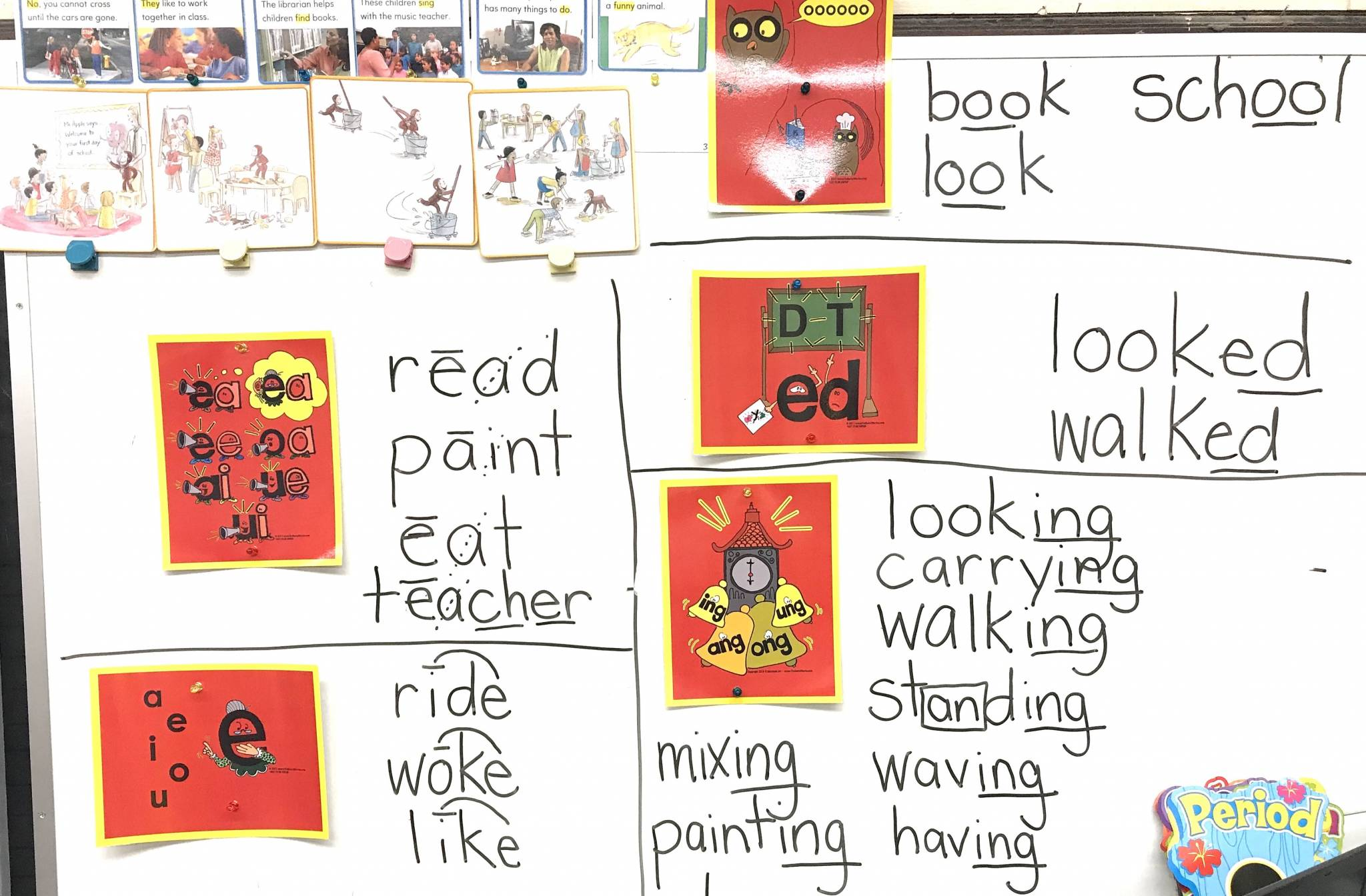 Secret Stories Phonics Manipulatives Posters Placards p