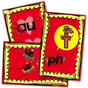 FUN AND FUNKY Phonics Posters
