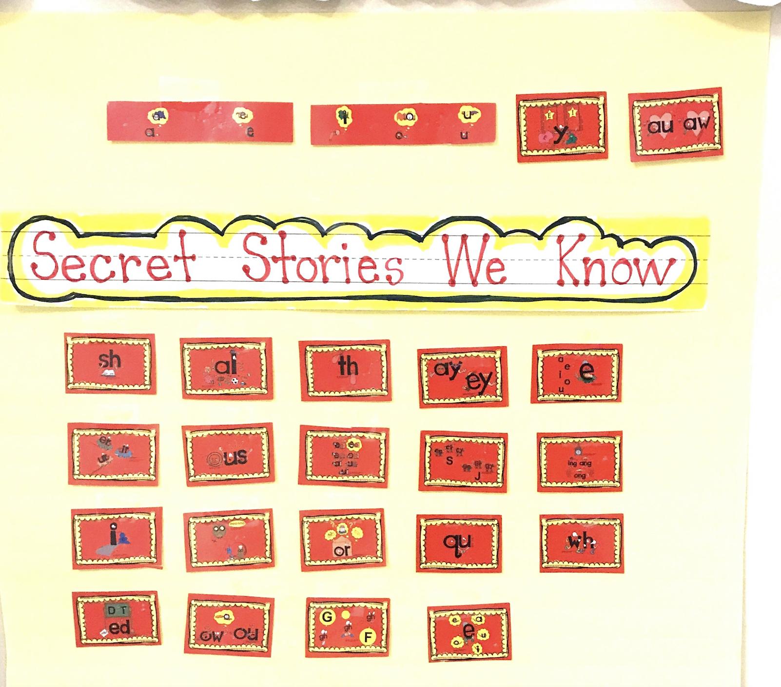 Secret Stories Phonics Cut-Apart Cards
