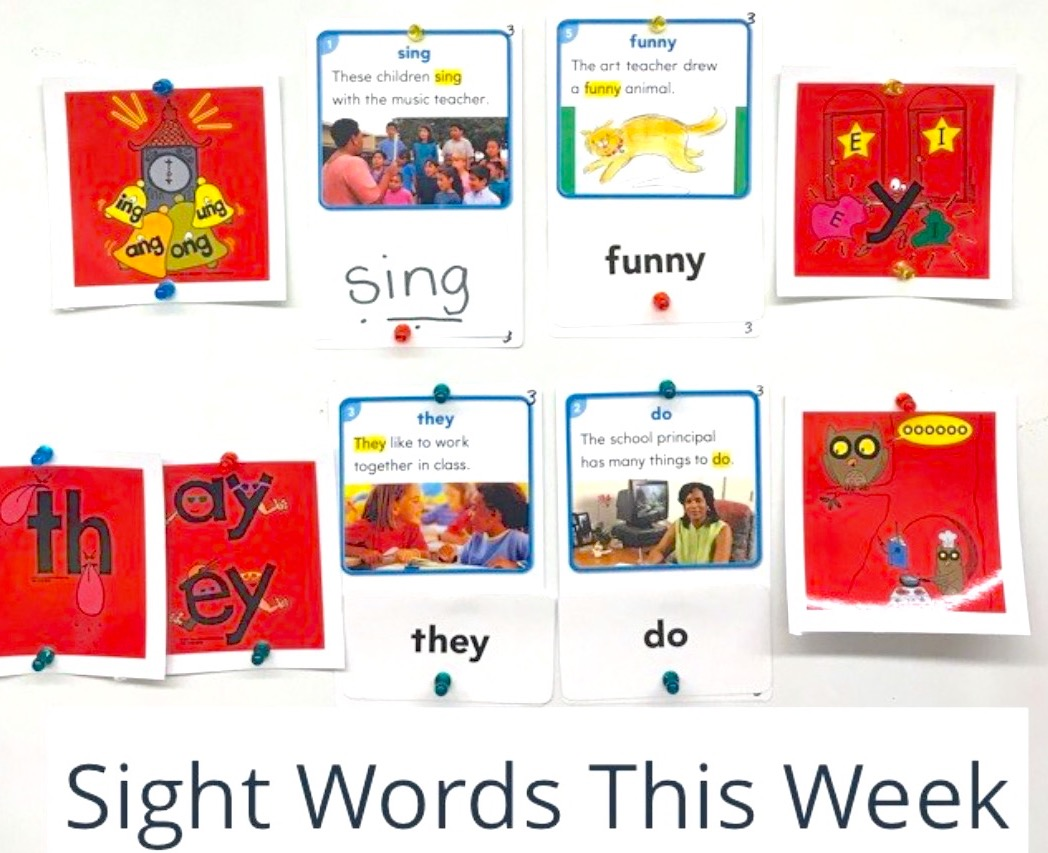 Phonics Flashcards for Sight Words