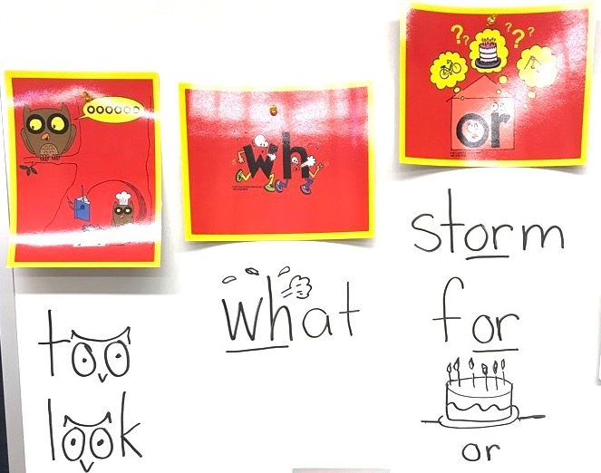 Reading Sight Words with Phonics