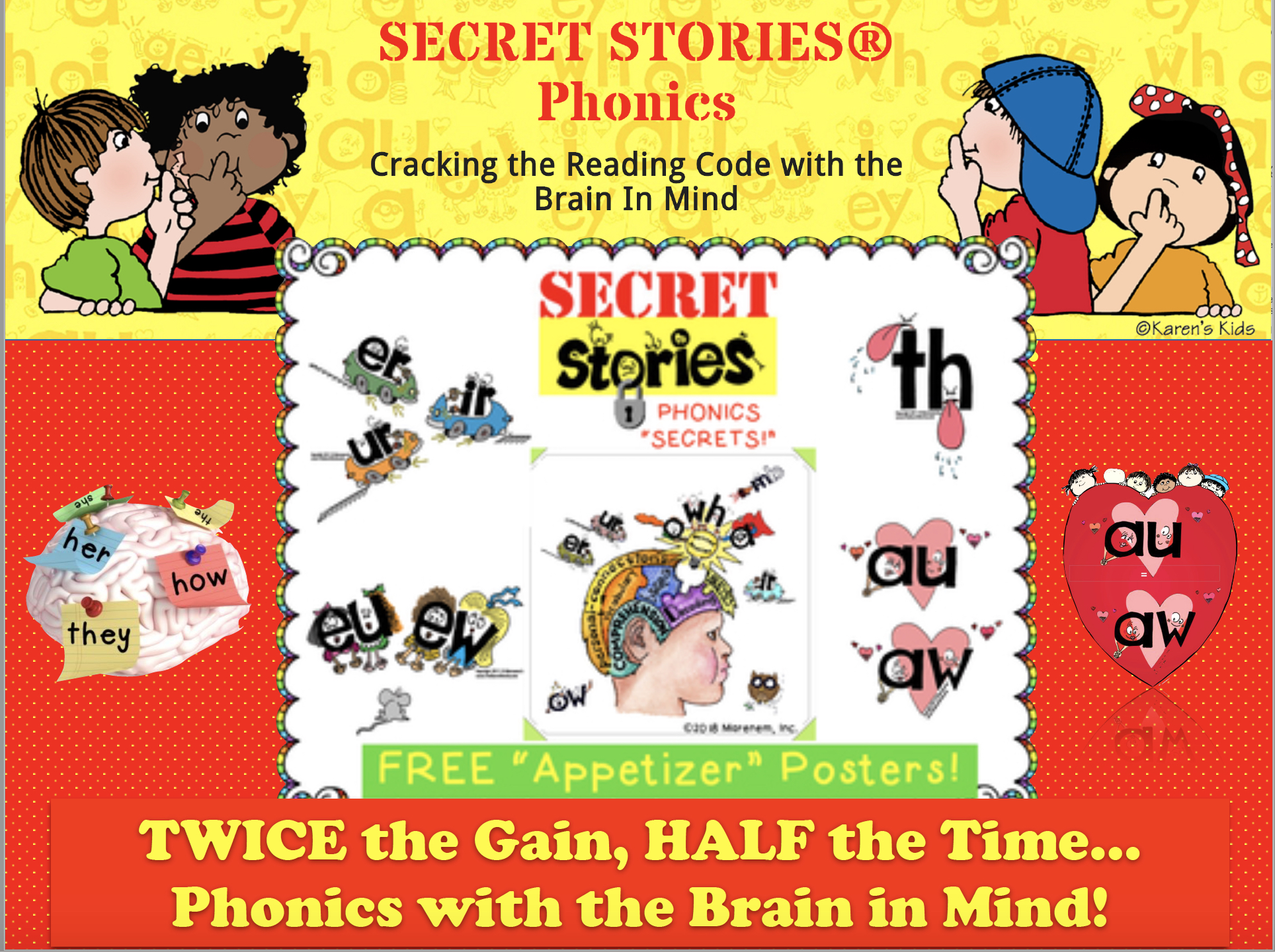 Free Secret Stories® Phonics Posters