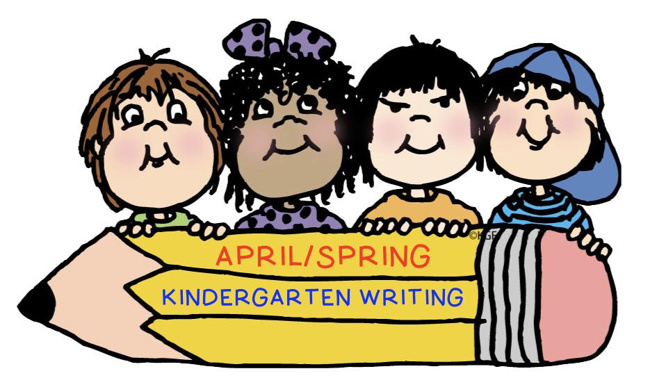 kindergarten spring writing samples