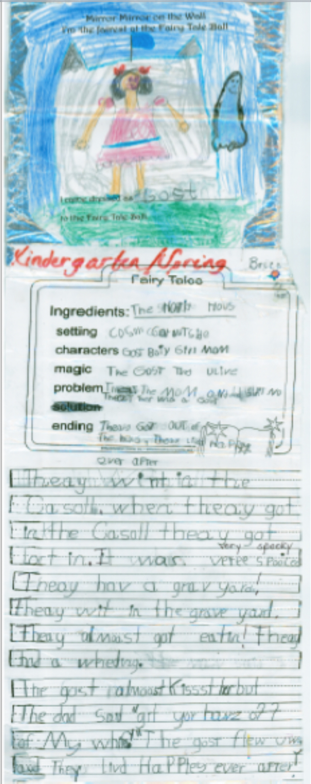 Kindergarten Writing with Secret Stories Phonics- Spring