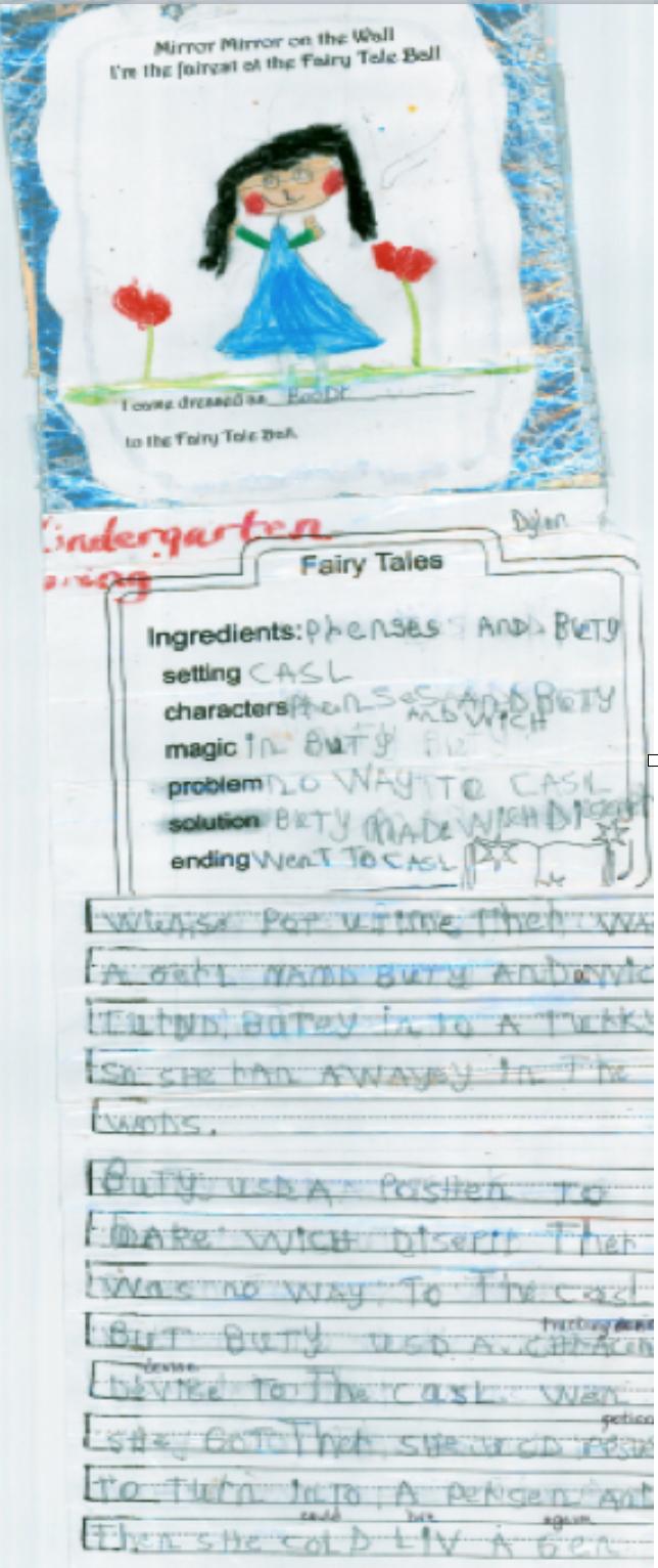 Kindergarten Writing with Secret Stories Phonics in Spring