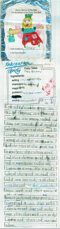 Kindergarten Writing with Secret Stories in Spring