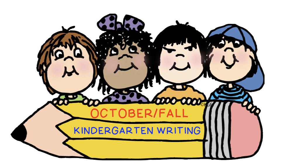Kindergarten Writing October Fall