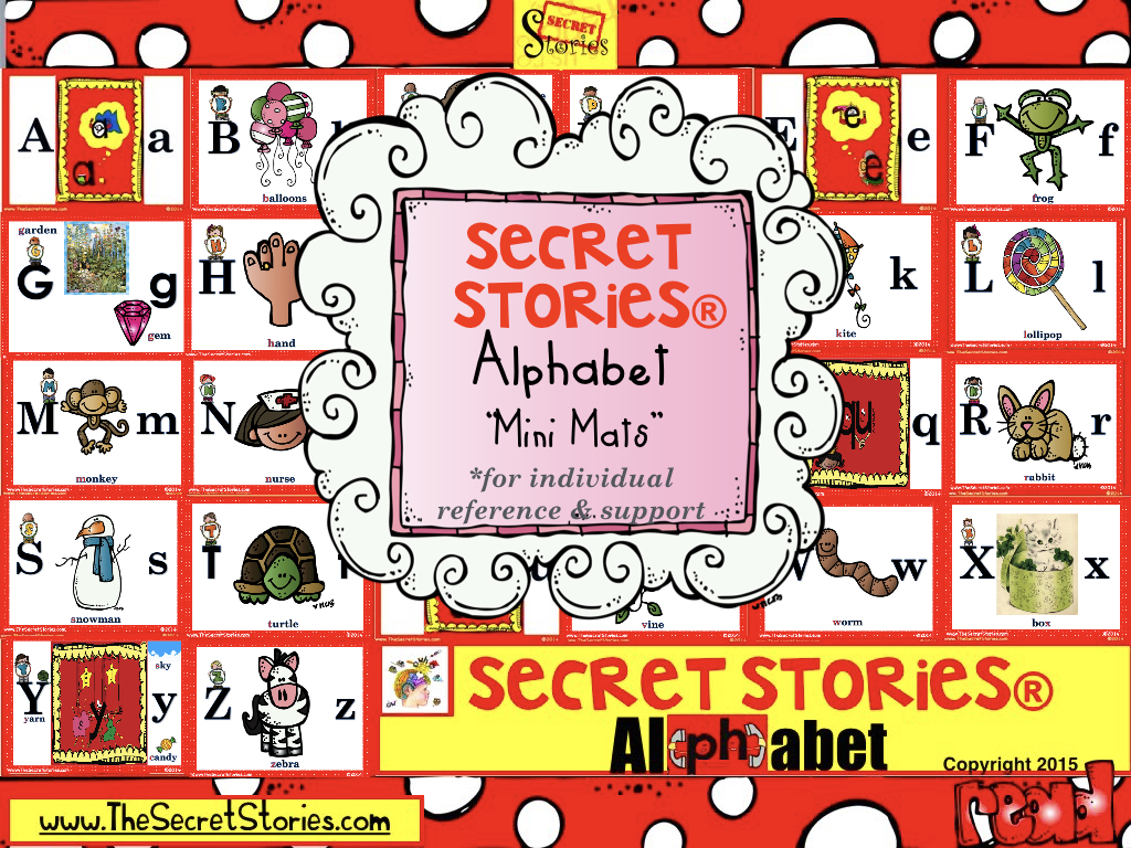 Secret Stories® Phonics Mini Mats