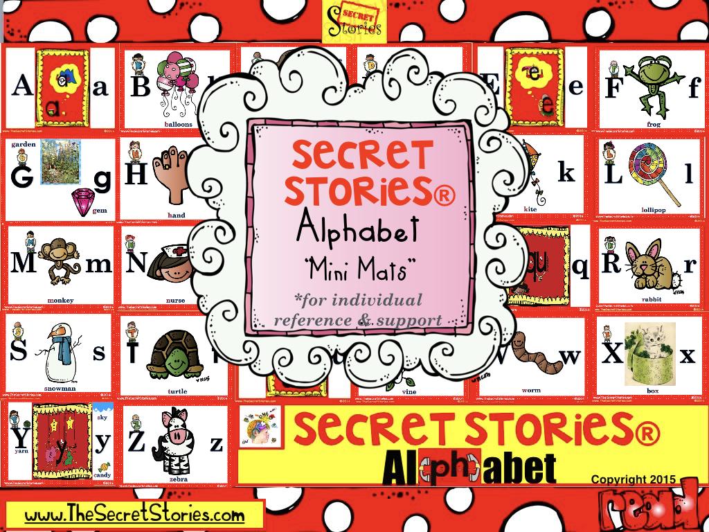 Secret Stories® Phonics Mini Mats