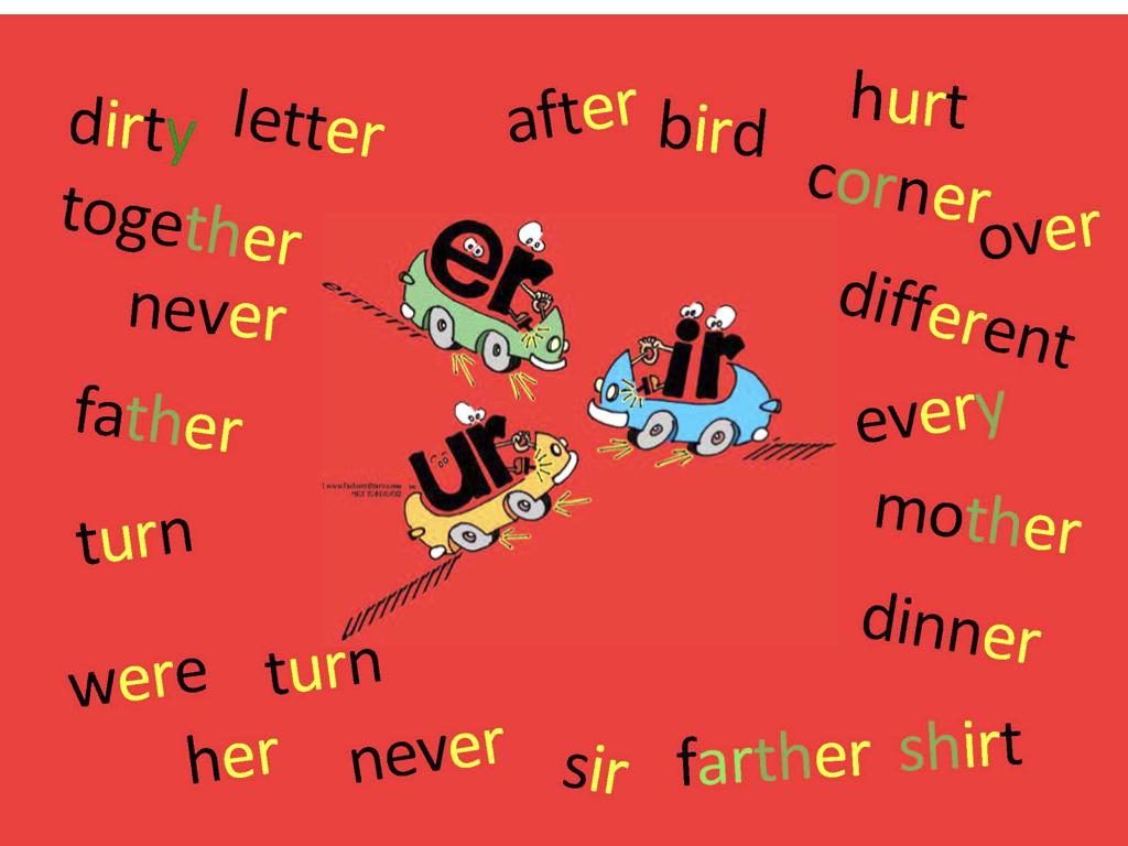 er-ir-ur-sight-words