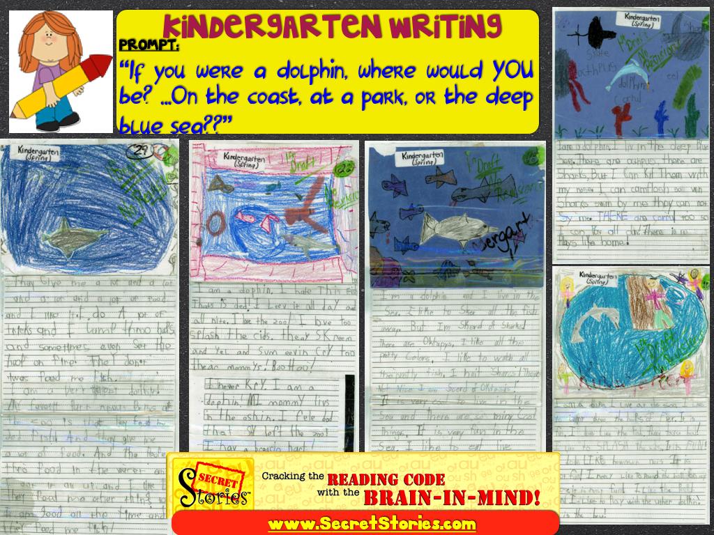 Kindergarten Writing with Secret Stories Phonics