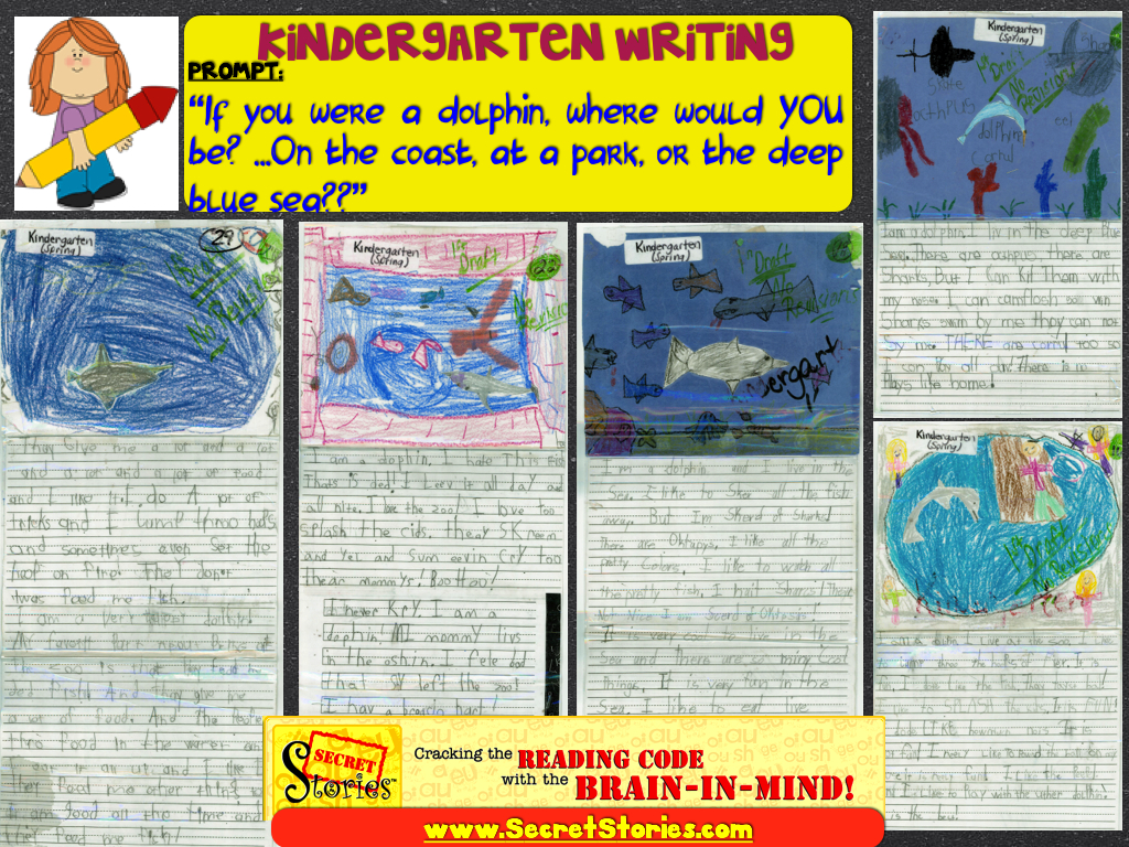 Kindergarten Writing with Secret Stories Phonics