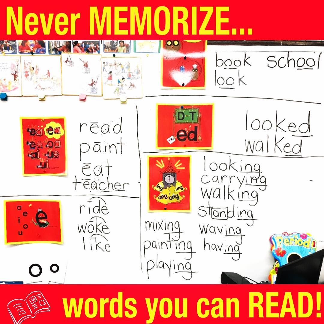 Phonics for Teaching Sight Words