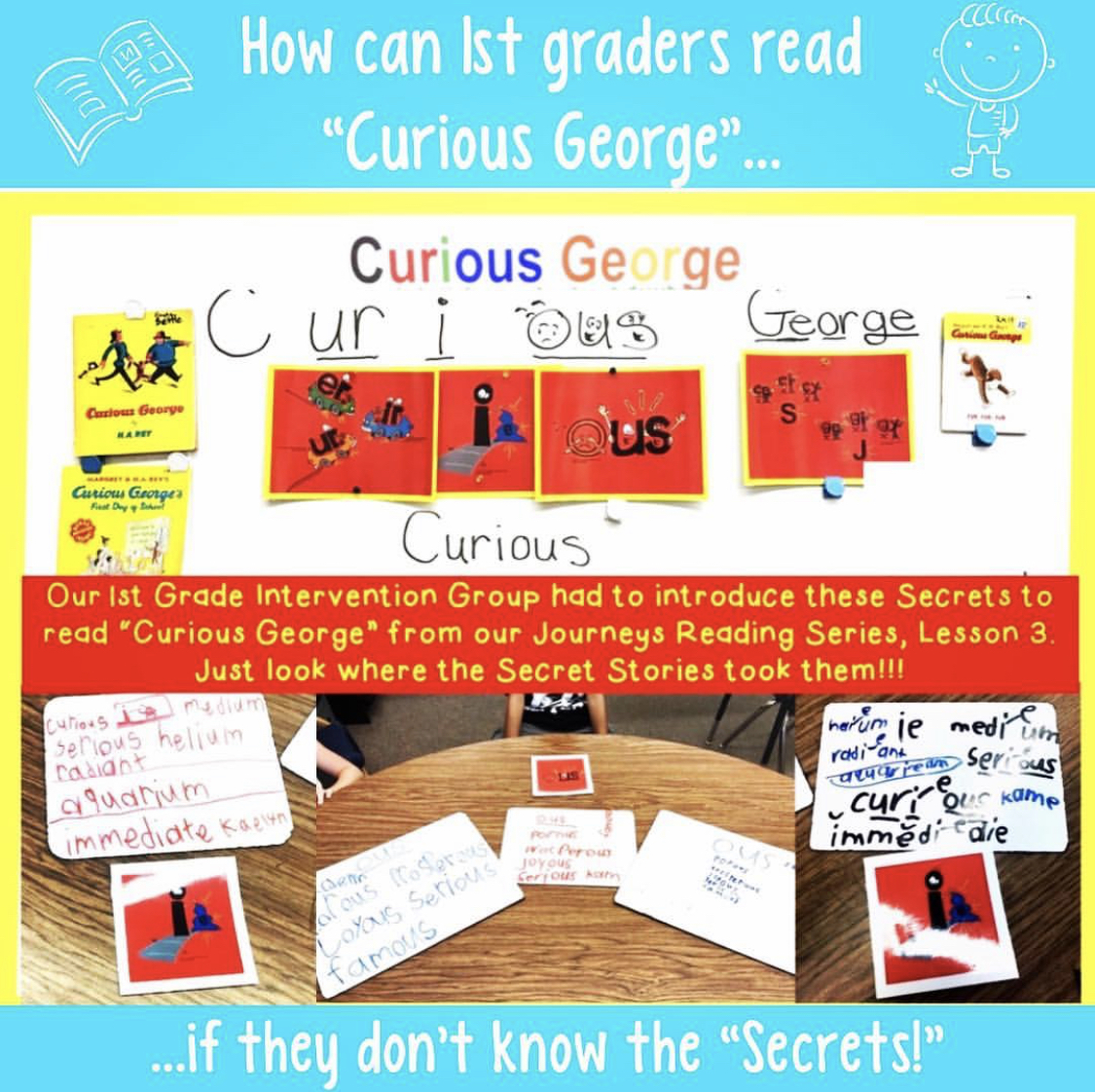 Secret Stories Phonics Instruction and Journeys Reading Program