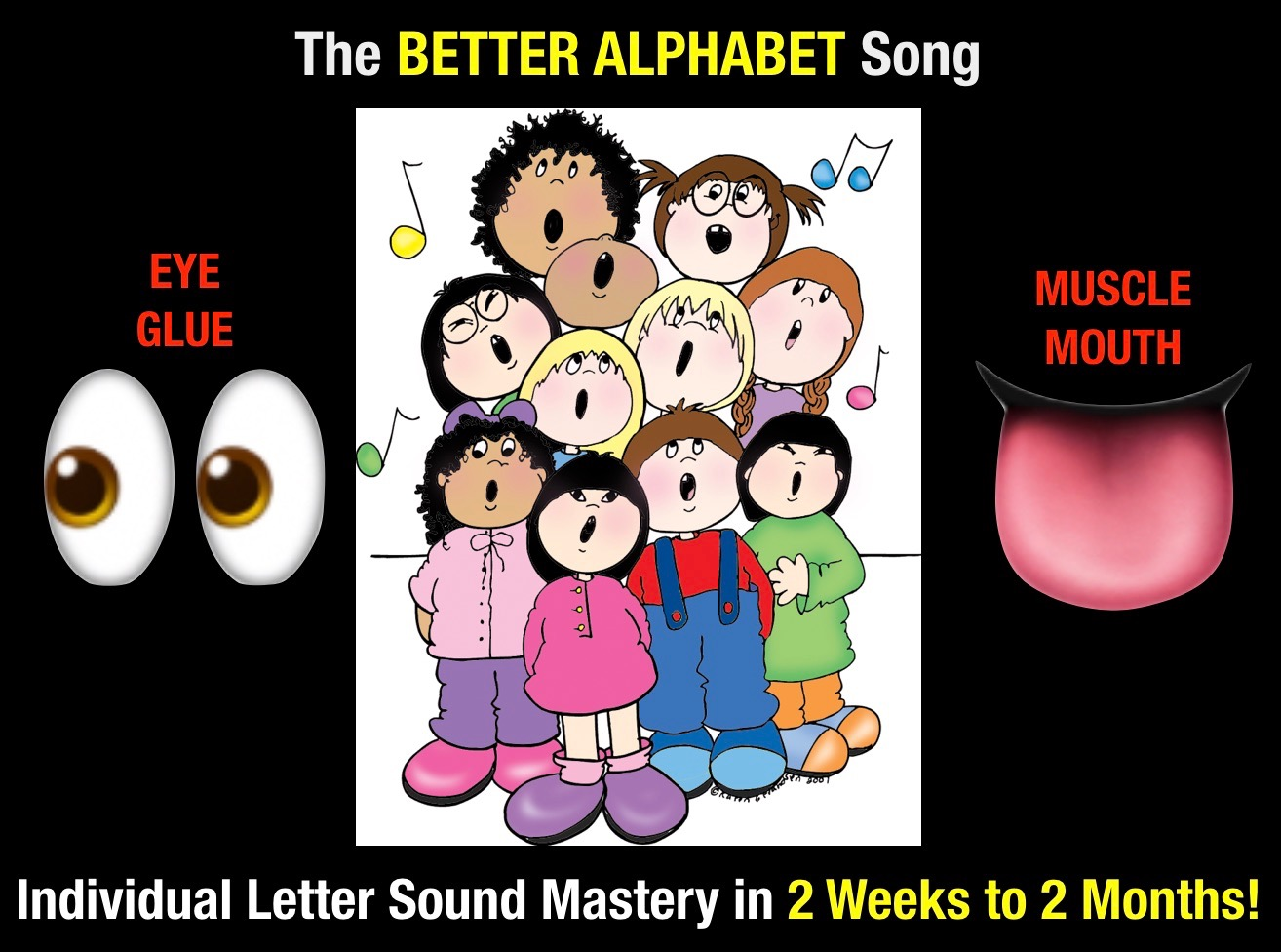 Secret Stories Phonics Better Alphabet Song