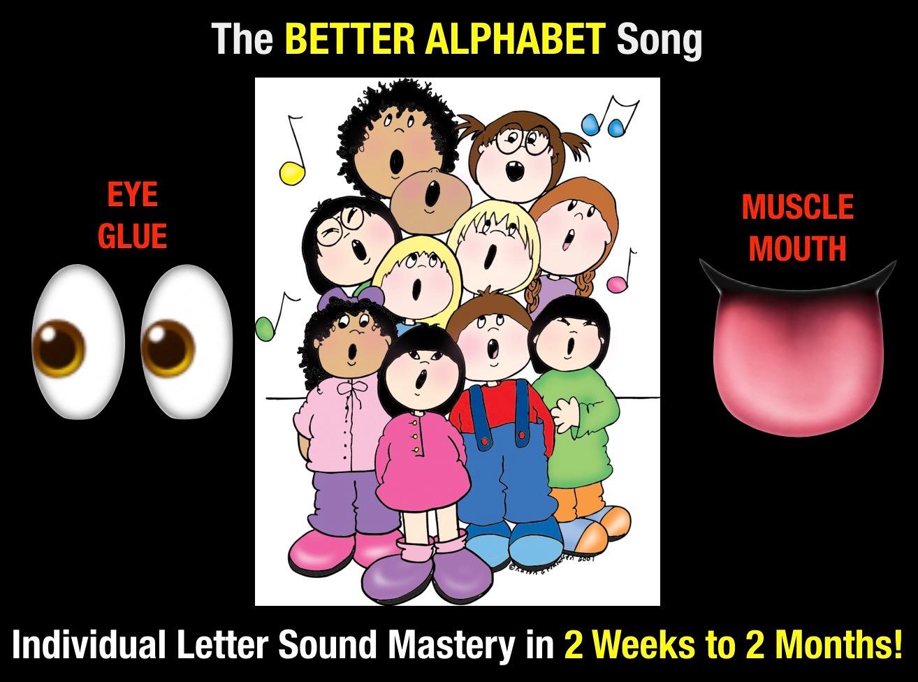 Secret Stories Phonics Better Alphabet Song