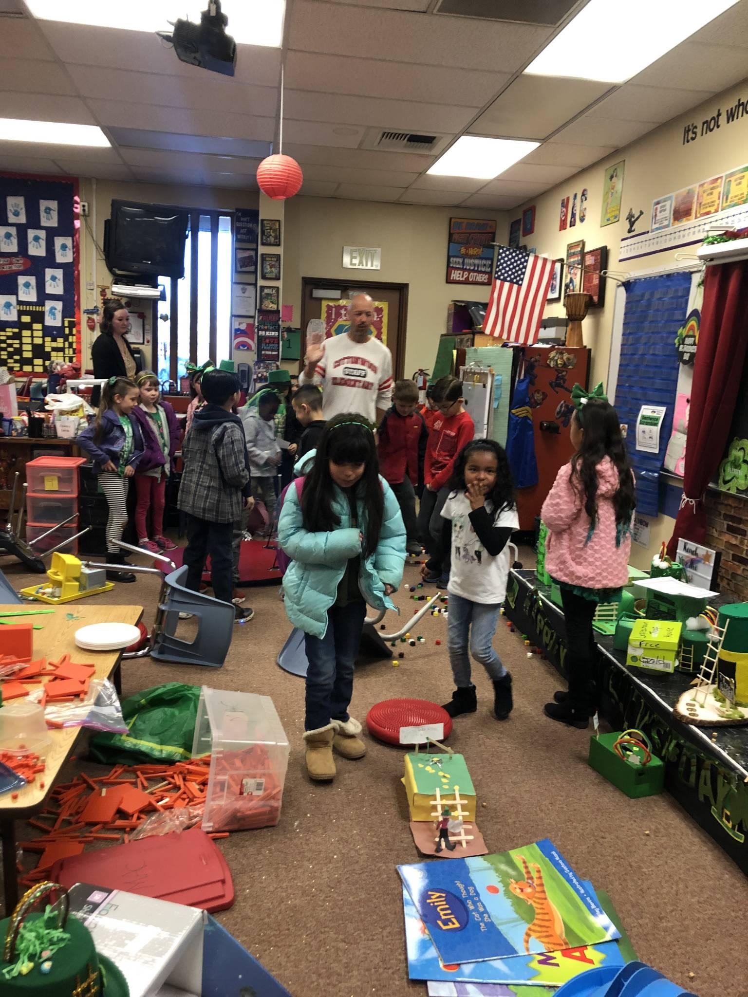 First Grade Leprechaun Classroom