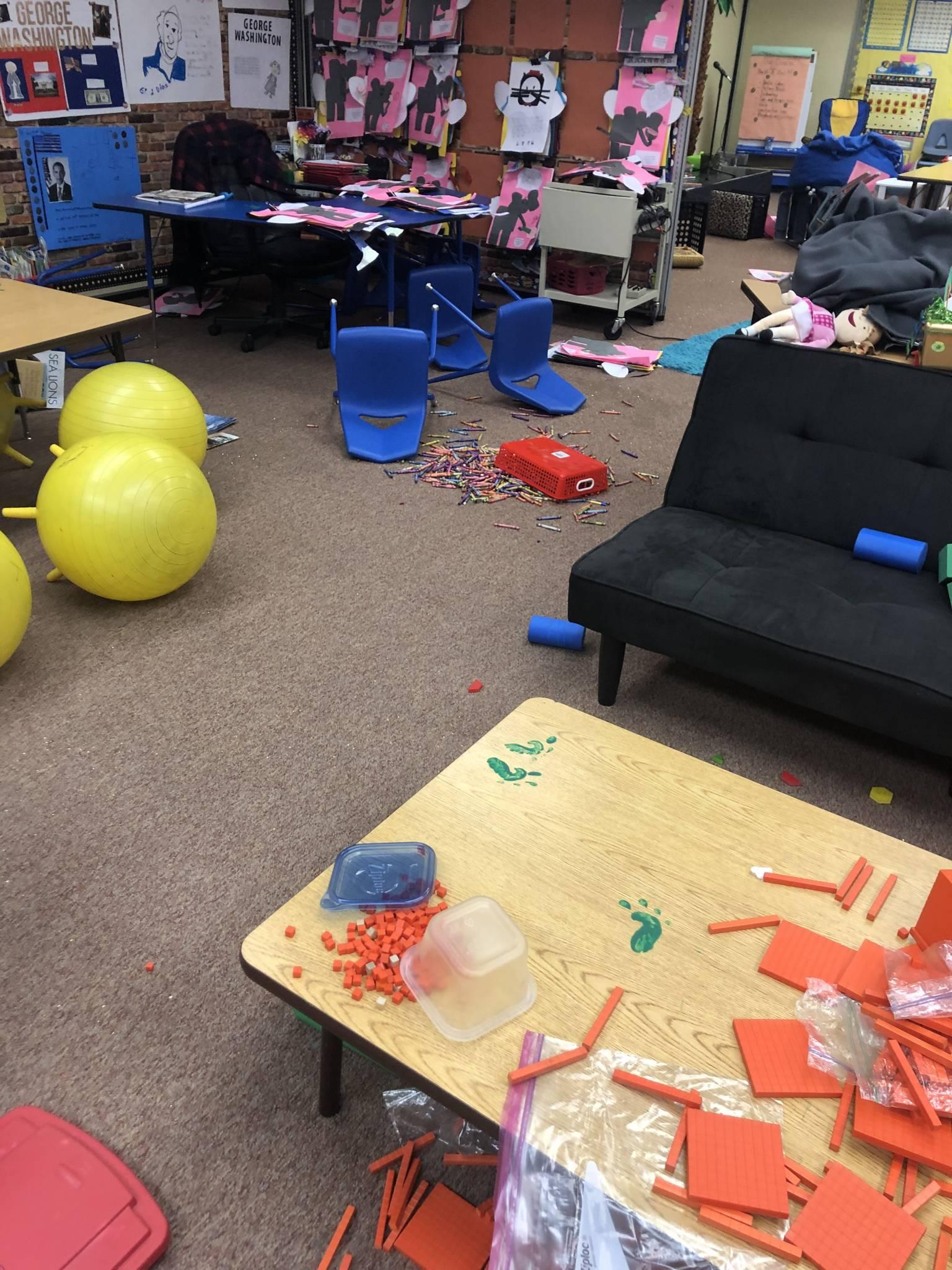 First Grade Mess