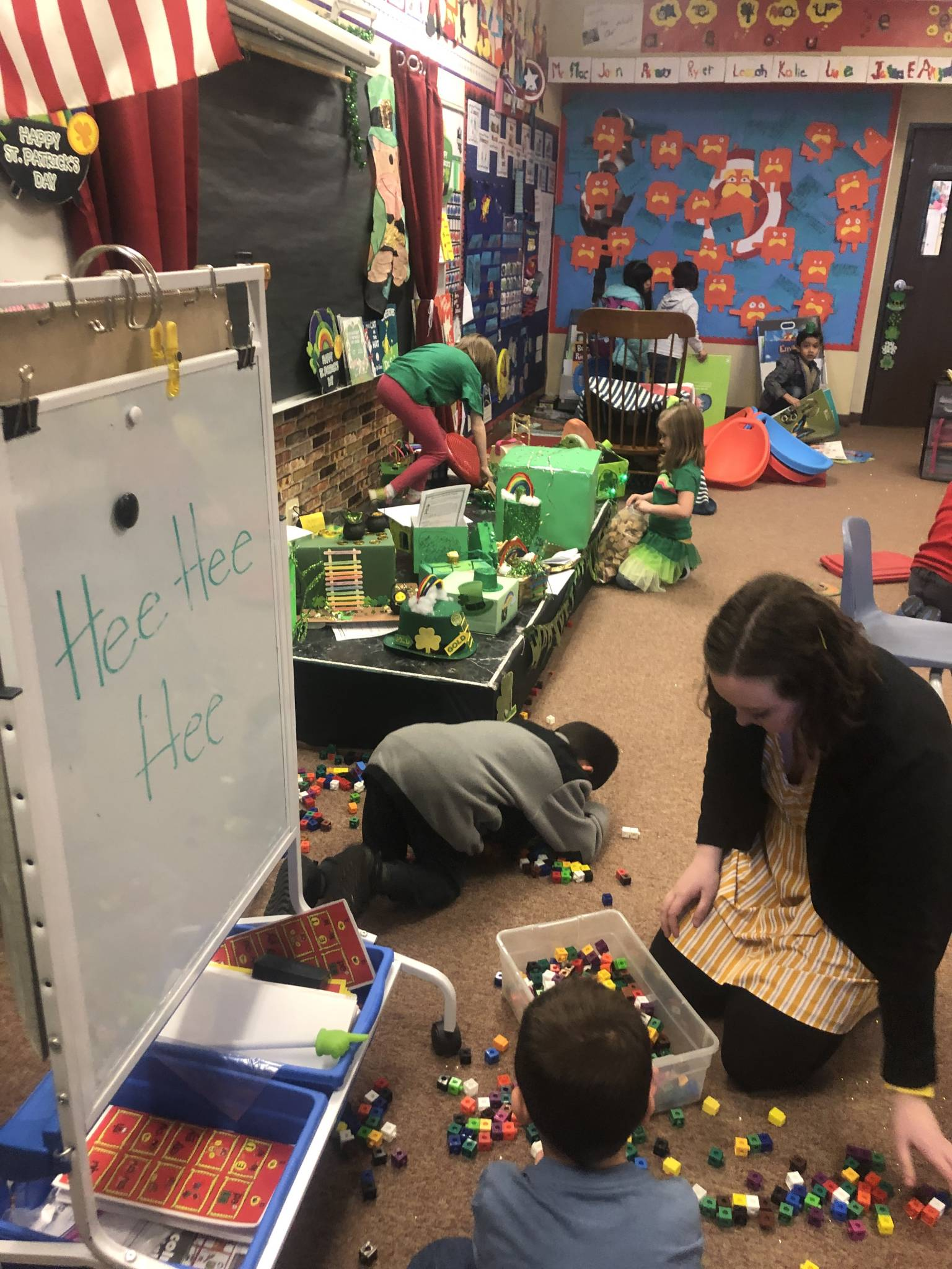 1st Grade Classroom Destroyed by Leprechaun