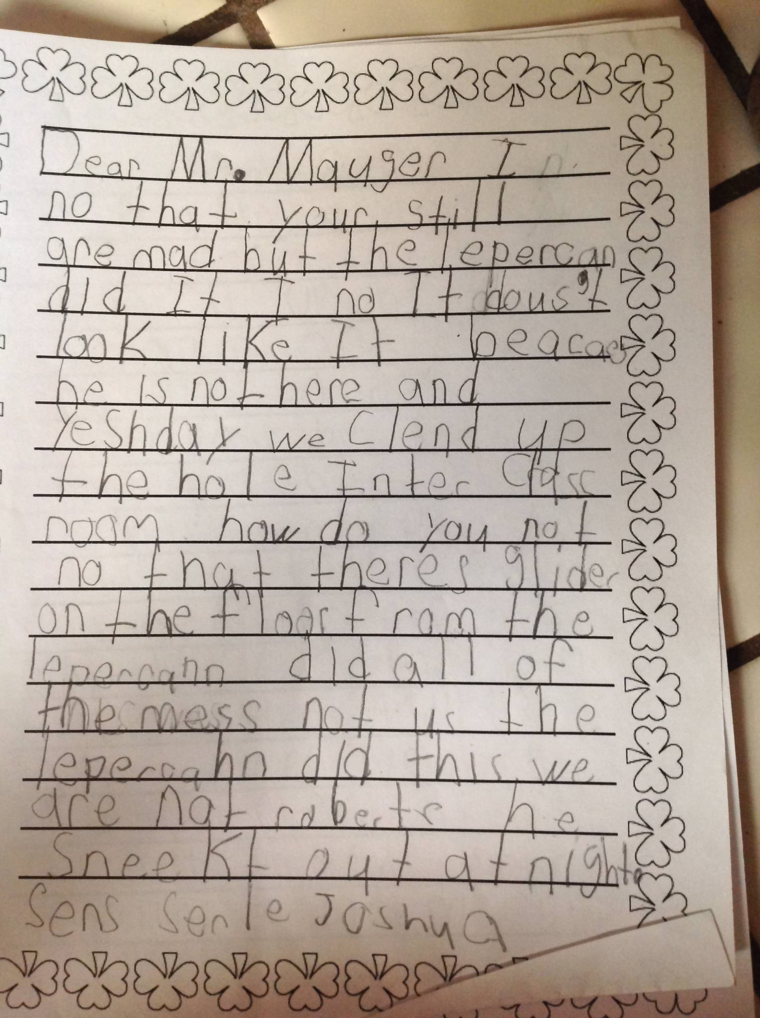 First Grade Persuasive Writing Activity