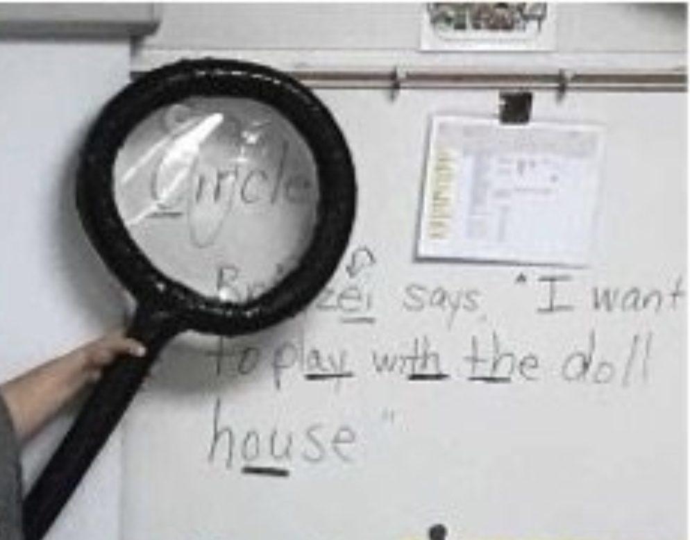 word detective word work