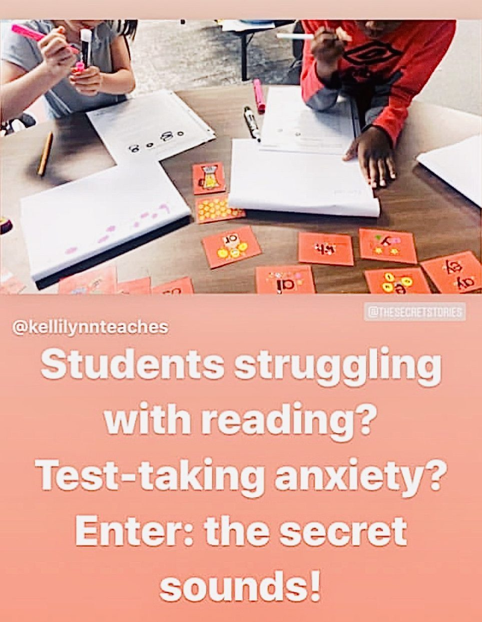 secret stories reading test assessment
