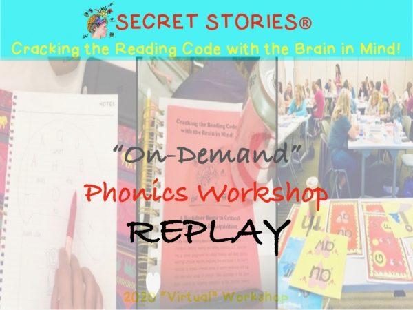 phonics workshop on demand