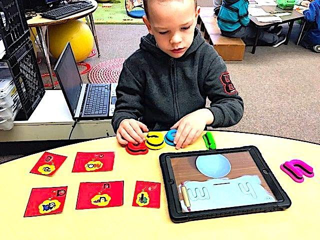 Remote Learning iPad Reading Phonics
