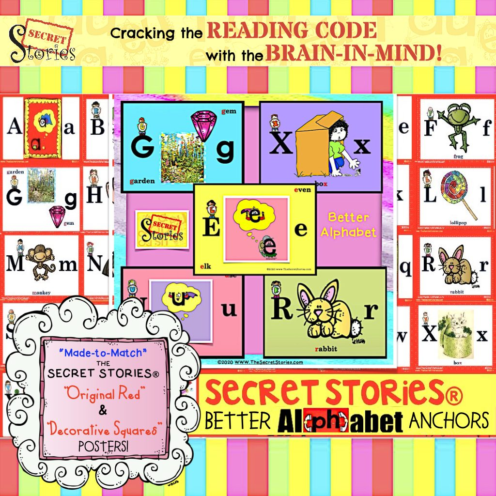 Better Alphabet - Secret Stories®